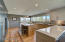 Kitchen w views & 2 extra dining areas!