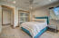 Upper EnSuite Bedroom #3 w bunk room (3/4 bath)