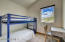 Bunk room attached to upper bedroom #3