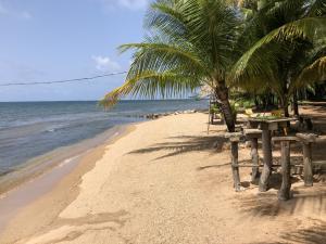 Camp Bay, Half acre w/ 50ft beach front, Roatan,