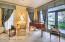 Elegant Library / Music Room With Indian River Views