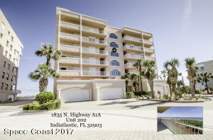 Property for sale at 1835 N Highway A1a Unit 202, Indialantic,  FL 32903