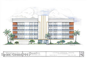 Property for sale at 121 Crescent Beach Boulevard Unit #405, Cocoa Beach,  FL 32931