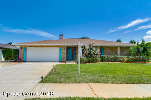 Property for sale at 687 N Hedgecock Square, Satellite Beach,  FL 32937