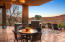 Relax and enjoy your outdoor kitchen area, covered patio, and bask in the views!
