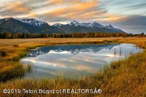 One of two ponds on Ranch lot 8B