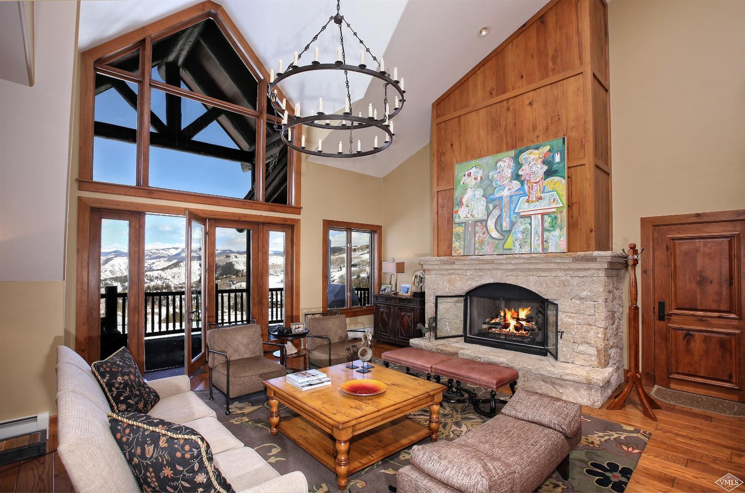 The jewel in the crown of exclusive Bachelor Gulch Village. Featuring 2 levels, this penthouse runs East to West, all the way through the building for remarkable sunrise to sunset views. Your privacy is guaranteed with direct to unit entry from the parking garage. On-site amenities include pool, hot tub, gym, white glove concierge service and ski room with private locker for the best ski-in/ski-out access on the mountain. A loft and tv room/den complete this one of a kind alpine sanctuary.