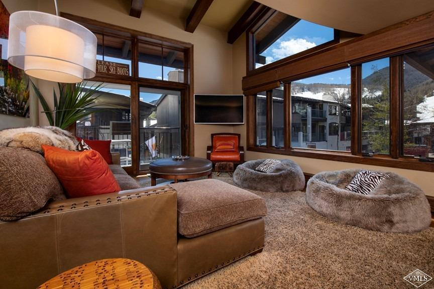 Fantastic opportunity to own in the center of Vail Village and just 155 steps to Gondola One. This 3-bedroom 3-bath condo has 2 living areas, 2 outdoor decks and plenty of natural light. A complete remodel was done in 2011. The property is offered air conditioned and fully furnished less personal items. A real gem!
