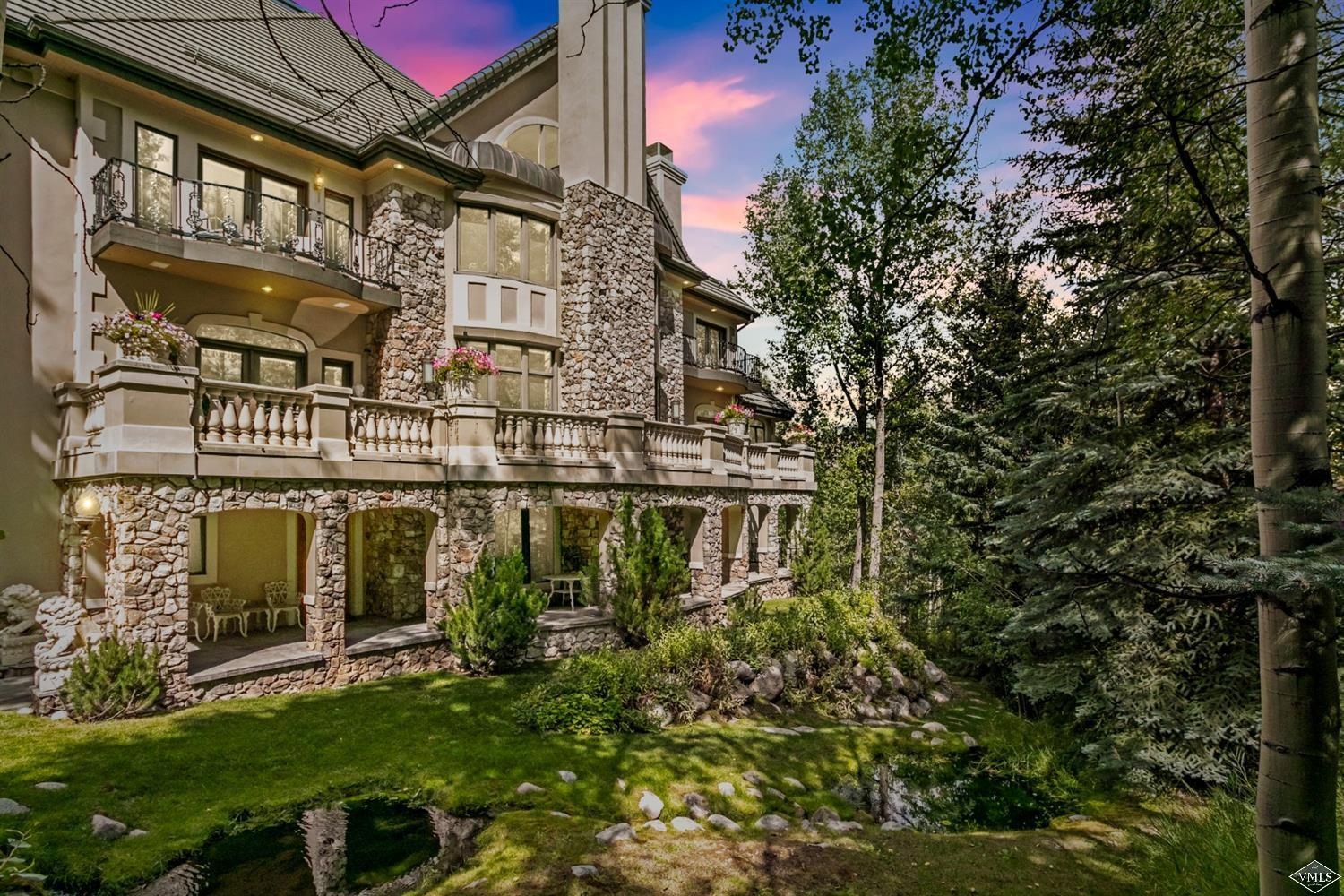 Reminiscent of the chateaus on the fabled Cote d'Azure, this 8-bedroom European-inspired contemporary manor is the pinnacle of elegance and prestige. Fall in love with the attention to detail, rich textures, romantic decorative forms, superb terraces and exceptional views of the ski mountain. Located within the gates of Beaver Creek, this iconic residence is a must-see for the refined buyer. Relish in quintessential Colorado living in this private, perfectly executed estate. www.BCHolden.com