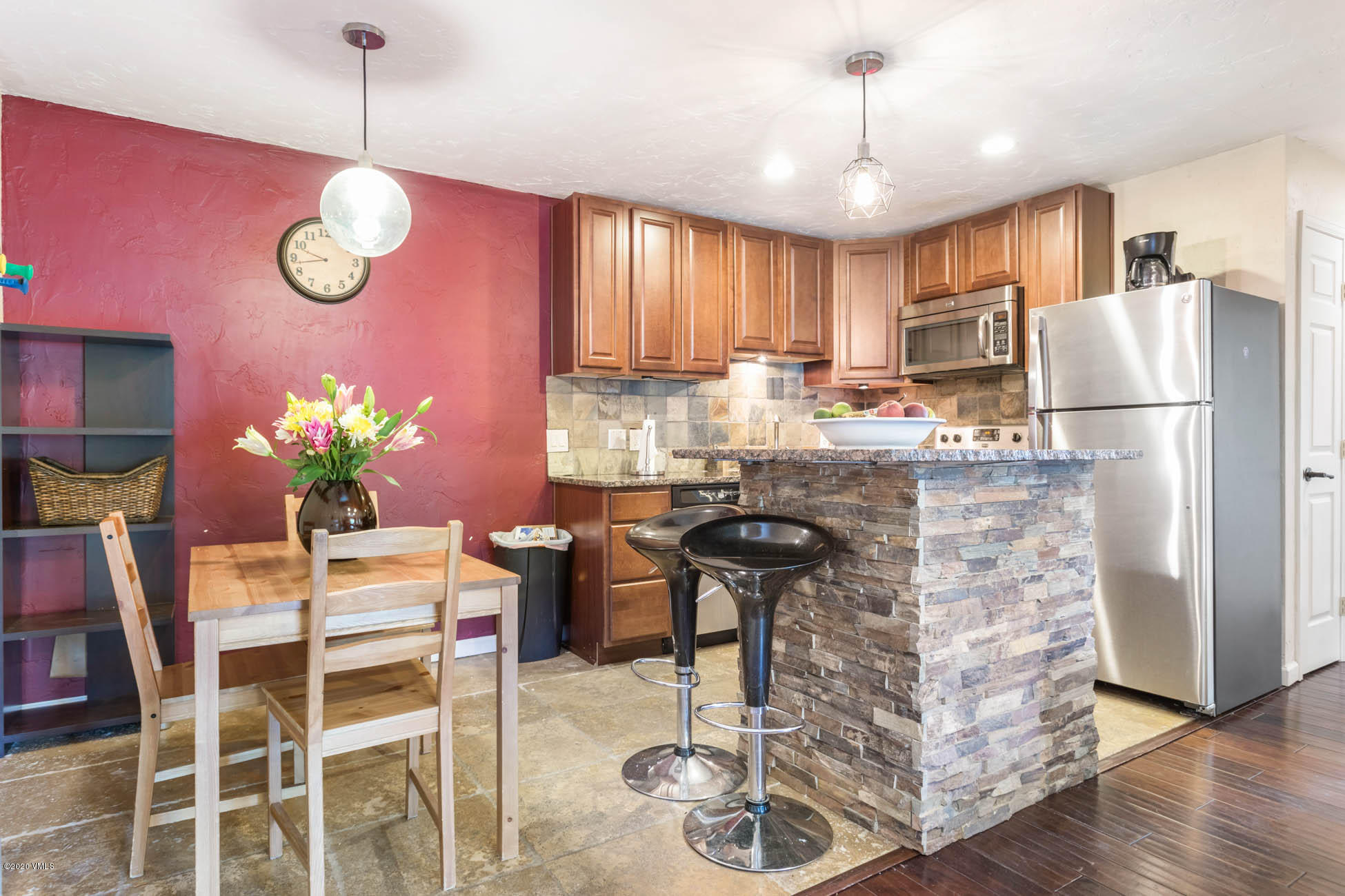Beautifully remodeled turnkey condo in the heart of Avon with easy access to the bike path, river, and Nottingham Lake. The kitchen layout has been greatly improved with a functional island that opens up the space and creates a comfortable area to hang out with family and friends. The healthy HOA is well run and offers reasonable monthly dues and a new roof in 2019. 1 assigned parking spot plus a second unassigned parking spot.