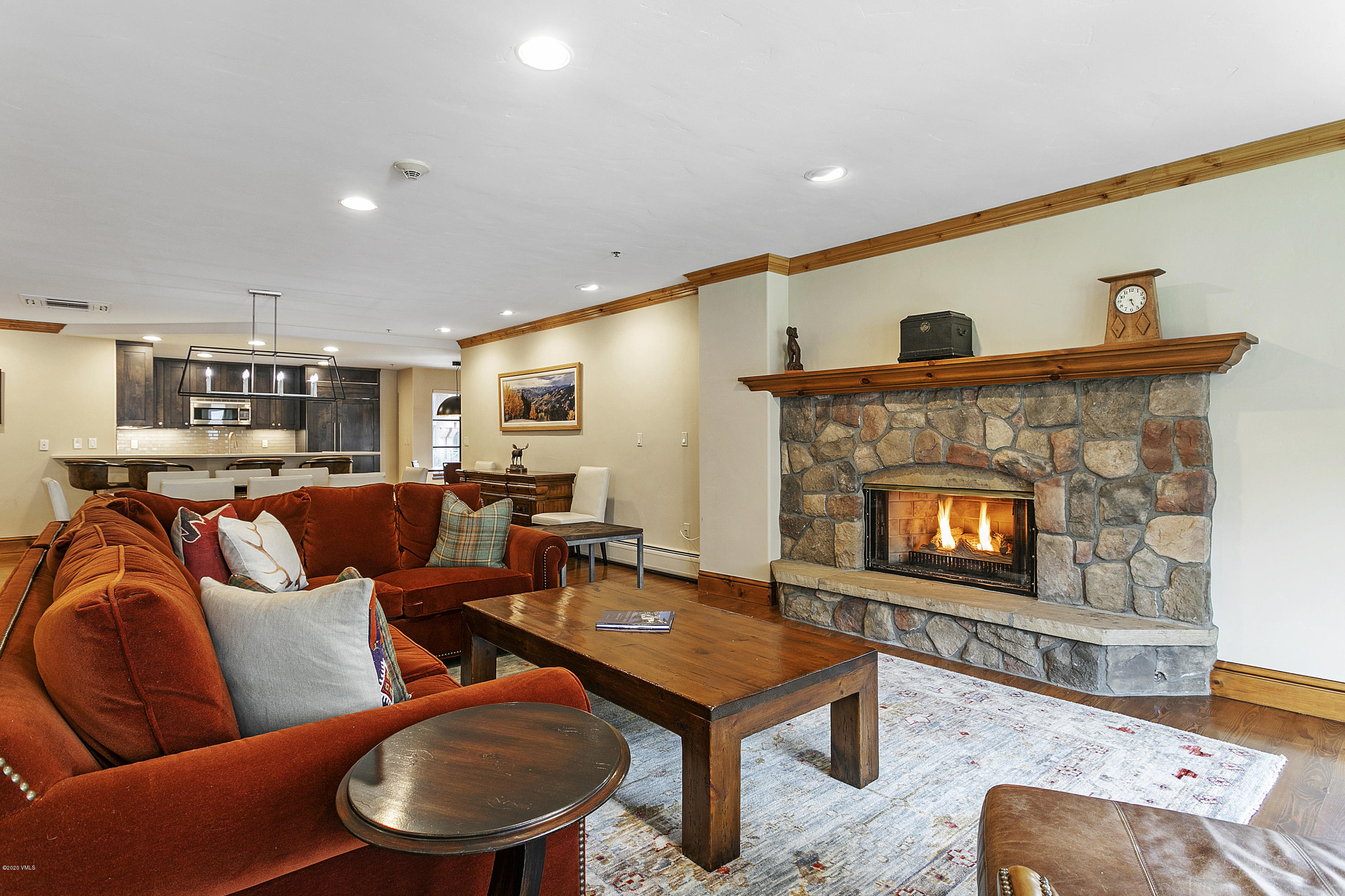 The centerpiece of Beaver Creek's charming and exclusive European village, the residences at Market Square define ''location, location, location.'' Completely and tastefully renovated 4-bedroom/4-bath, single-level luxury home with open floorplan. Fully-furnished, and turn-key. The discerning buyer will appreciate that every detail has been tended to in a fresh transitional finish with mountain contemporary and warm traditional furnishings, together with the addition of central air-conditioning throughout. Also included is a full Beaver Creek Club Membership offering robust amenities including fitness, spa, daily breakfast, golf, and loads of other benefits like first-tracks and exclusive lunch at Beano's Cabin. Enjoy panoramic mountain and village views from your private and heated balcony overlooking the ice rink as you sip your morning coffee and then your afternoon apres. Beaver Creek's world-renowned ski school and elite main-mountain terrain are convenient to all with the home's 100% ski-in/ski-out access that is easy enough for beginners. Gourmet kitchen with high-end appliances including Wolf gas stove-top and oversized solid wood custom cabinetry. Large living spaces. Ensuite baths. Hardwood floors. All-new plush carpeting, custom light fixtures, quartz countertops, and two gas fireplaces adorned with natural stone. Parking is simple and secure in the dedicated and heated garage. Proceed directly to your door without venturing through a common lobby. Capitalize on a rental history of repeat guests and dozens of 5-star reviews. Venture downstairs to the Vilar Performing Arts Center, shopping, dining, ice-skating, and year-round programming, all without stairs or the need for shuttles. Escape the city and move home to the mountains.  (Seller will include the Full Beaver Creek Membership with a full priced offer).
