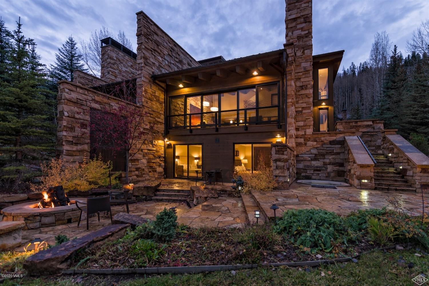 You will not find another home resting this close to Gore Creek on the coveted roads of Forest Road & Beaver Dam. After a glorious day in Vail, come home to this turnkey mountain modern home with 6 10' Weiland doors that open to your private creekside patio. Views of Bald Mountain, and the serene sound of the flowing creek, creates an unbeatable and picturesque mountain ambiance. This beautiful home will exceed your every expectation no matter the season. This convenient and coveted location on Forest Road places you steps away from Born Free ski run, Vail Village, Lionshead Village for shopping, dining, and entertainment.Unbranded Website:http://www.745BForestRoad.com/?mls