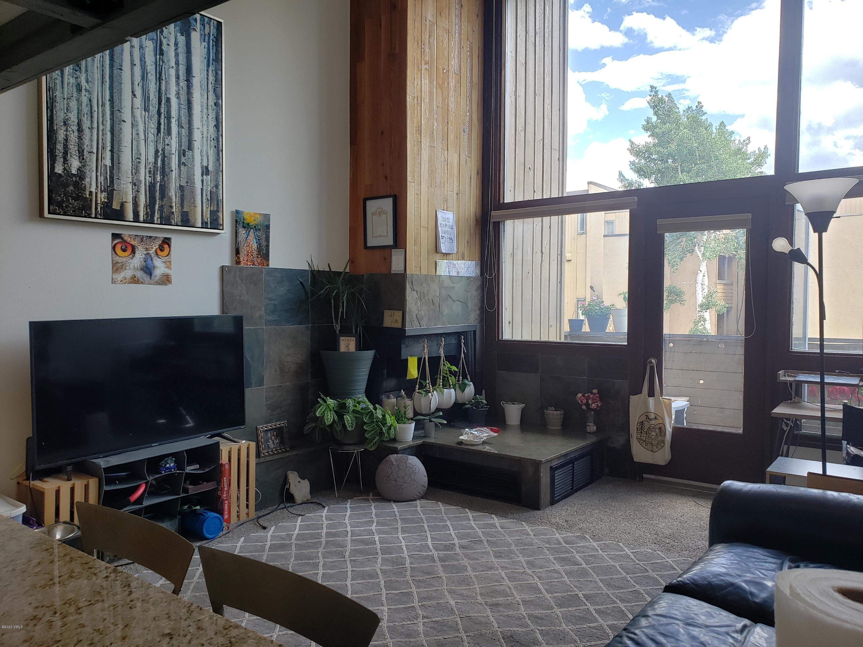 Sunny south-facing unit on the TOV bus with views toward Vail Mountain. Great opportunity for first-time home buyer, weekender or investment. Partially furnished with new carpet & paint. HOA dues include HEAT!