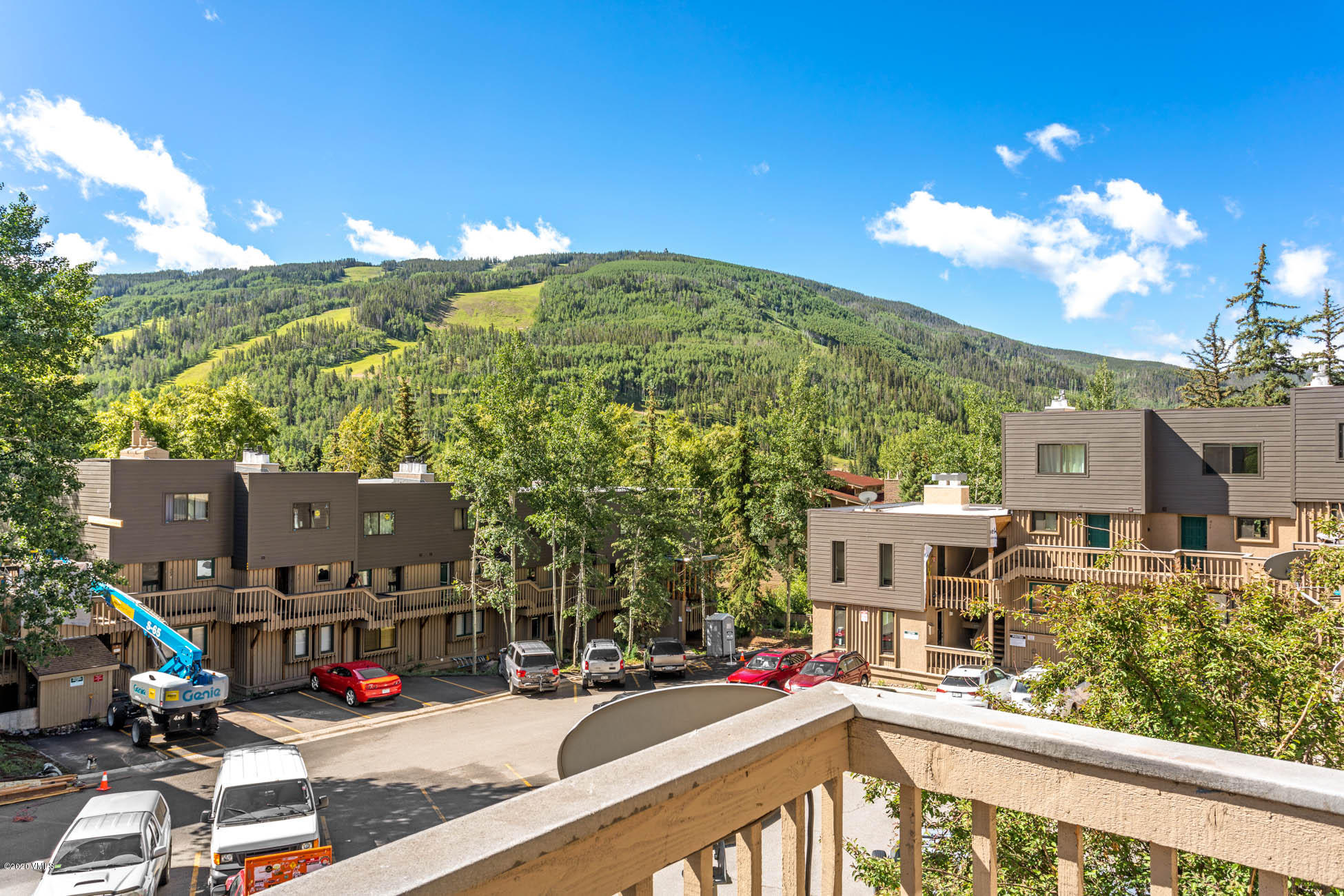 Looking for a Vail condo with ski slope views and a great location? This remodeled top floor, end unit, two level condo has it all. New Pella windows, plank wood flooring & stairs, Wolf 4 burner range, granite slab kitchen counters, concrete slab bathroom counters, slate walk-in shower, stacked rock fireplace, an all in one washer/dryer and low voltage lighting throughout. Located between 2 bus stops on free Town of Vail bus route it is ideal for locals and investors alike. See attached video.