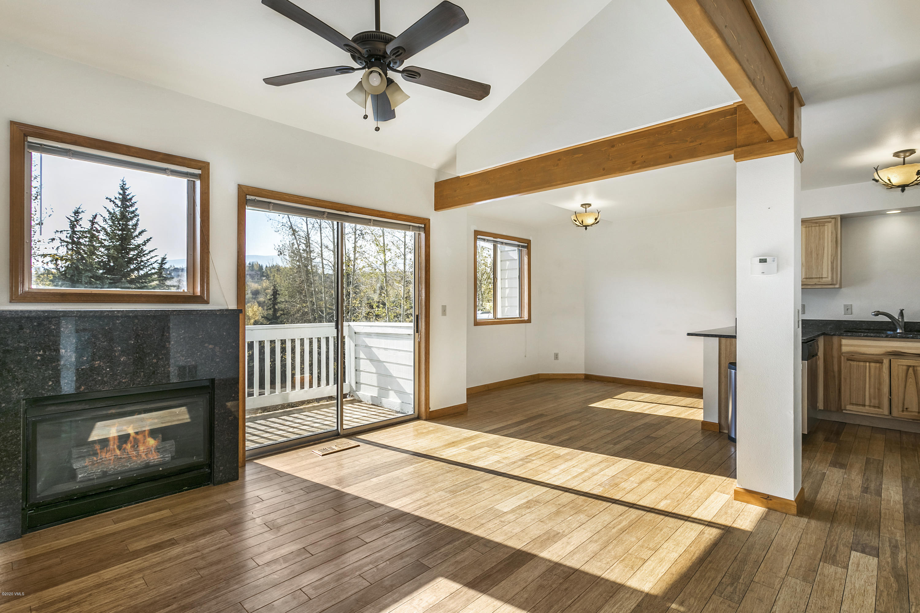 This sunny South-facing 4 bedroom updated townhome in Wildridge features granite countertops, vaulted ceilings, 2 car garage, and views.  Perfect as a primary residence or as a rental property.  The home is vacant and easy to show.  Ready to move-in before the ski season starts.