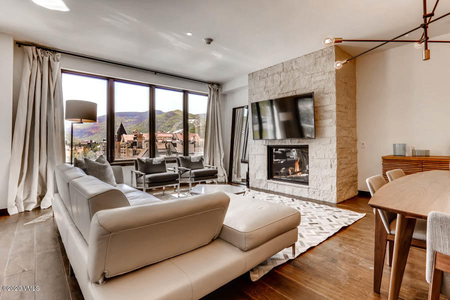 This dynamic 3-bedroom residence includes 2 decks, and dramatic views over Lionshead, the Gore Range, and Vail's ski slopes. Even better, the third bedroom locks off, operating as a separate suite for potential rental revenue. Easy walk to the lift, or ride in style on The Lion's electric vehicle. Infinite-current lap pool, in and outdoor hot tubs, common recreation rooms, and ample owner's/parking storage will set this Vail residence apart from the rest.