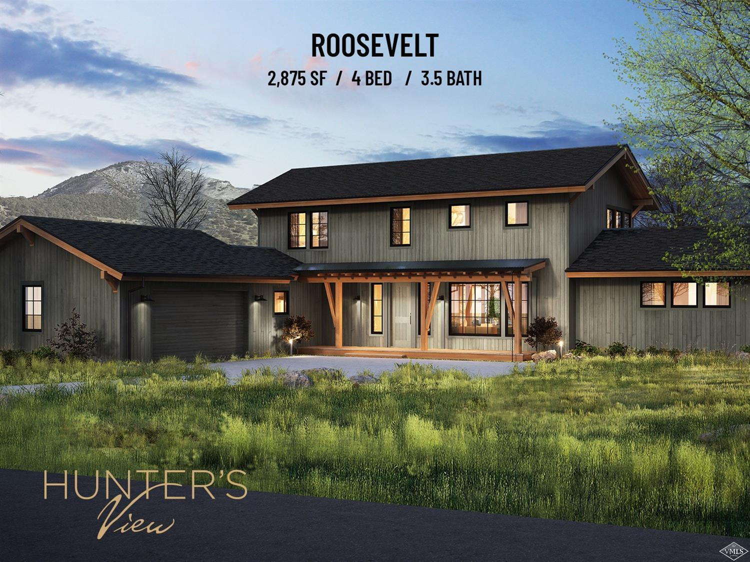Started in Summer  of 2020 - Roosevelt Models - Hunter's View Residences - Nestled on 81 acres, surrounded by pristine wilderness, Hunter's View is Frost Creek's newest real estate offering. Phase 2 (last 29 homes out of 44) are thoughtfully designed new construction homes, which is perfect combination of personalization and convenience. With 3 unique layouts and numerous additions to choose from, no two residences will be exactly the same.