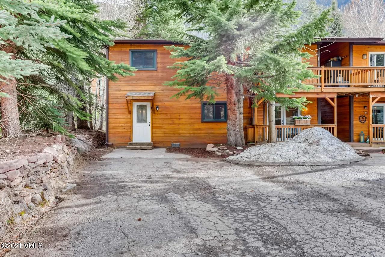 In an intimate East Vail location, here is your opportunity for affordable Vail home ownership. This Town of Vail deed restricted 2 bedroom, 2 bath condo tucked away in a 6-plex at the end of Black Bear Lane. Relax in a patio area among the trees, only minutes to East Vail hiking and Vail Mountain. 10 minute drive from Vail Village, along in-town bus route.  This property is great for both residency and investment. The property has a Town of Vail deed restriction which calls for the occupant to be a full time employee in Eagle County, whether it is the owner or tenant.