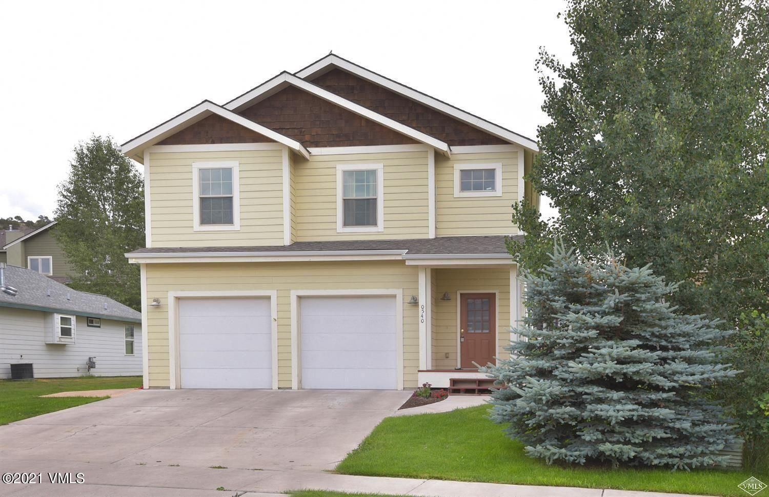 This single family residence has it all. Updated, fresh and clean with outstanding beautifully flowing floor plan. Superior covered back deck is a must see and the lower level in-law apartment offers a fantastic supplementation of carry cost. Spacious bedrooms, outstanding neighborhood, world class mountain bike trails right out your front door. This residence is close to everything Eagle has to offer makes this home a perfect long term investment.