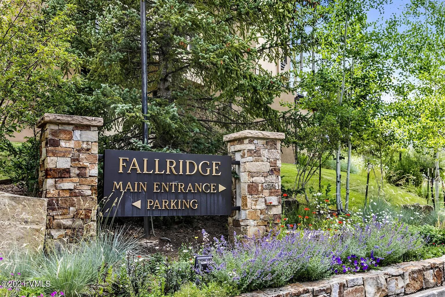 Fallridge is conveniently located on the Vail Golf Course only 1 1/4 Miles from the heart of Vail Village with just a short walk to the Club House, Nordic Center,  and free Town of Vail Bus Stop. The building offers  efficient and friendly management and front desk services, convenient in house parking, elevators,  in-house hot tub, and outdoor summer pool in a beautiful setting with Gore Range views.The condominium is located on the first floor and views the picturesque island in front of the building.The condominium can be used as two units, a lock-off bedroom with bath and a one bedroom apartment. Both have access to a spacious deck. The seller wishes to close after January 2nd.