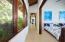 Hallway from kids to master bedroom