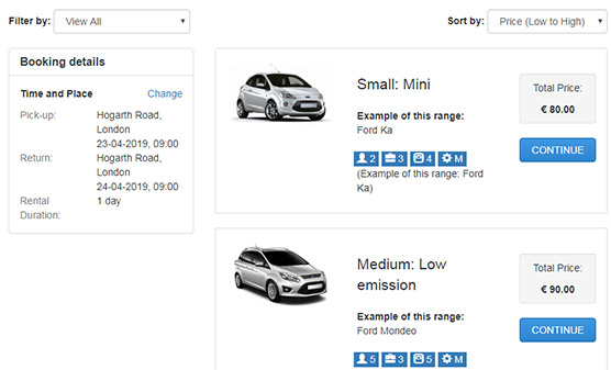 Car classifieds