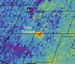 Four Corners methane hotspot points to coal-related sources