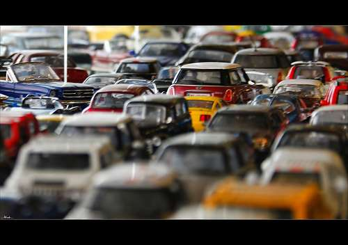 The maths of congestion—springs, strings and traffic jams