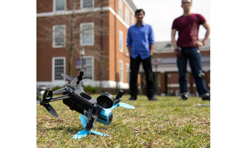 Image result for Johns Hopkins Crashing Drones