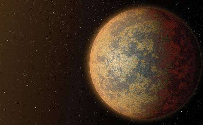 An illustration of a large, rocky planet similar to the recently discovered BD+20594b. Credit: JPL-Caltech/NASA   Read more at: http://phys.org/news/2016-02-largest-rocky-world.html#jCp