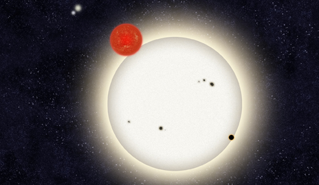 Armchair astronomers find planet in quadruple star system