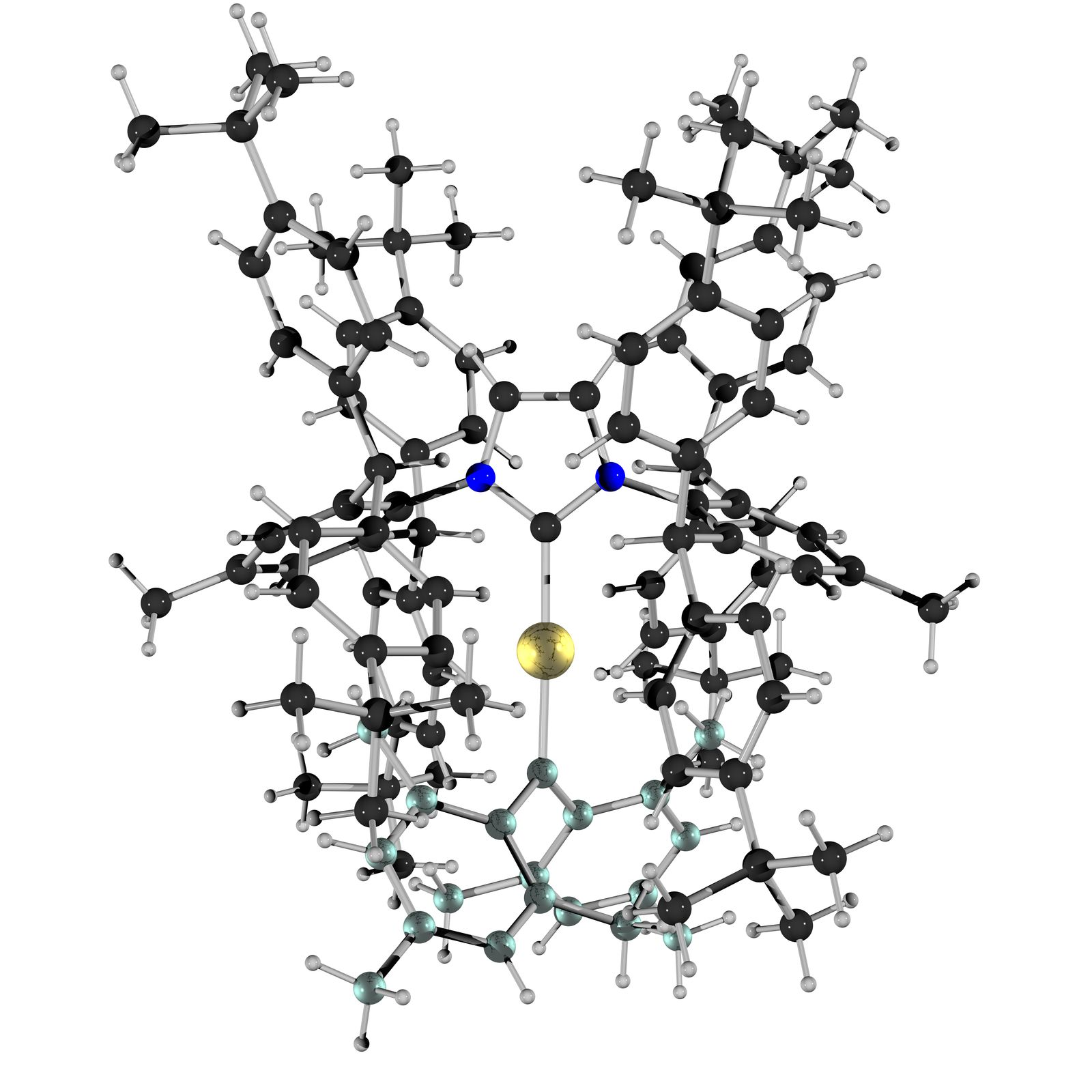 Chemists Succeed In Isolating Carbon Gold Compound Of