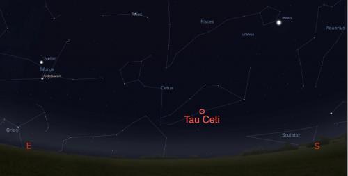 Tau Ceti: stella simile al Sole a soli dodici anni luce di distanza potrebbe essere un pianeta abitabile