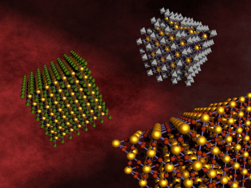 Mixing nanoparticles to make multifunctional materials