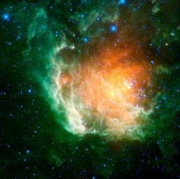 WISE Captures a Cosmic Rose