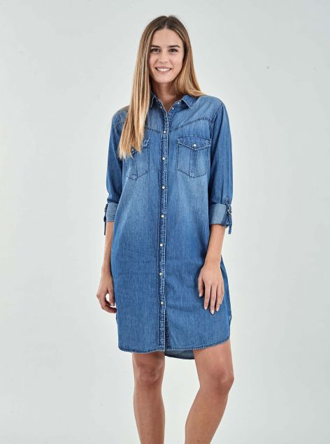 Camicia Denim Lunga