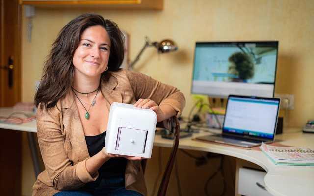 The Blue Box, the winner of James Dyson Award 2020
