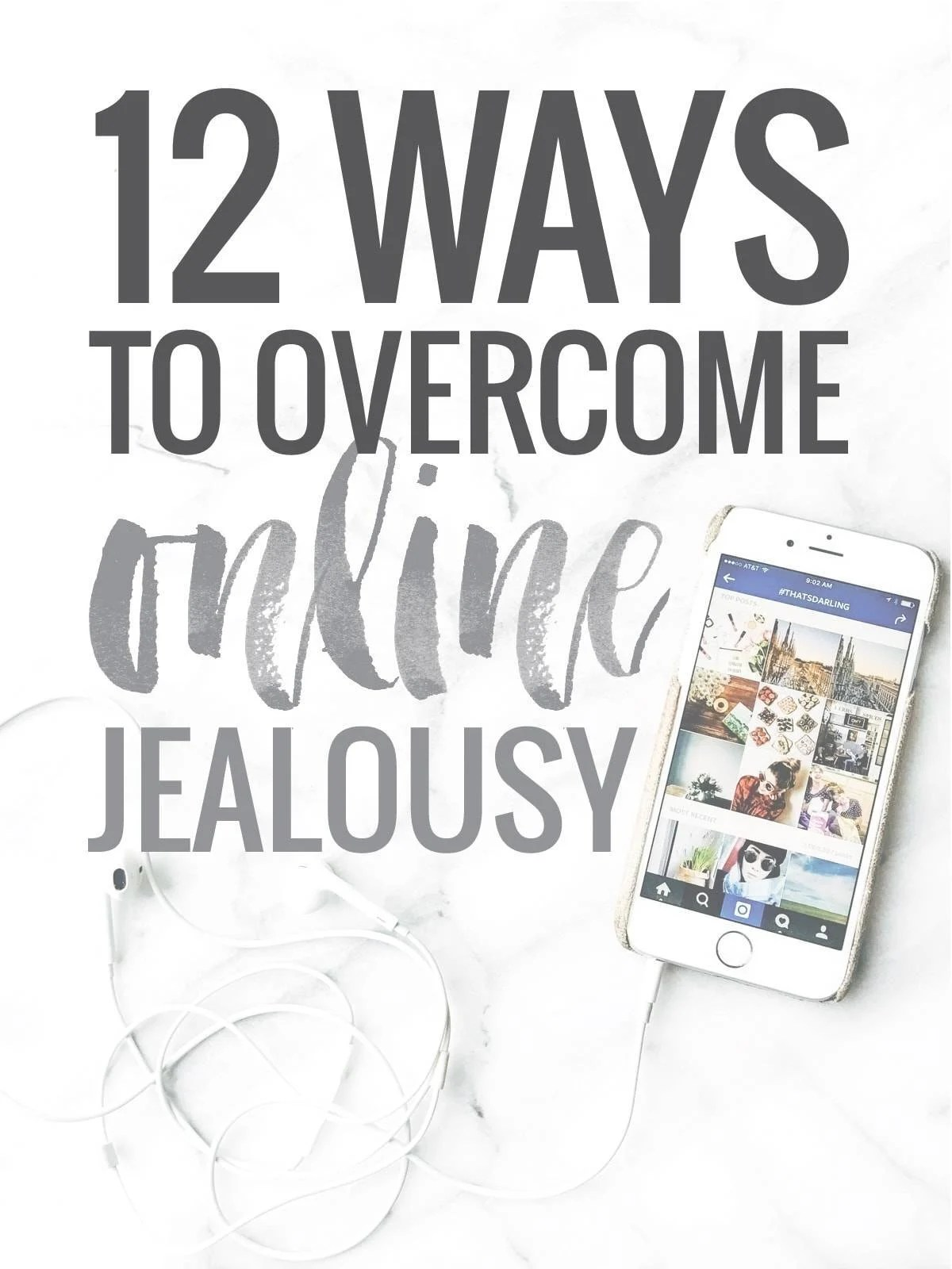 Feeling Jealous on the Internet... and 12 Ways to Make it Stop | pinchofyum.com