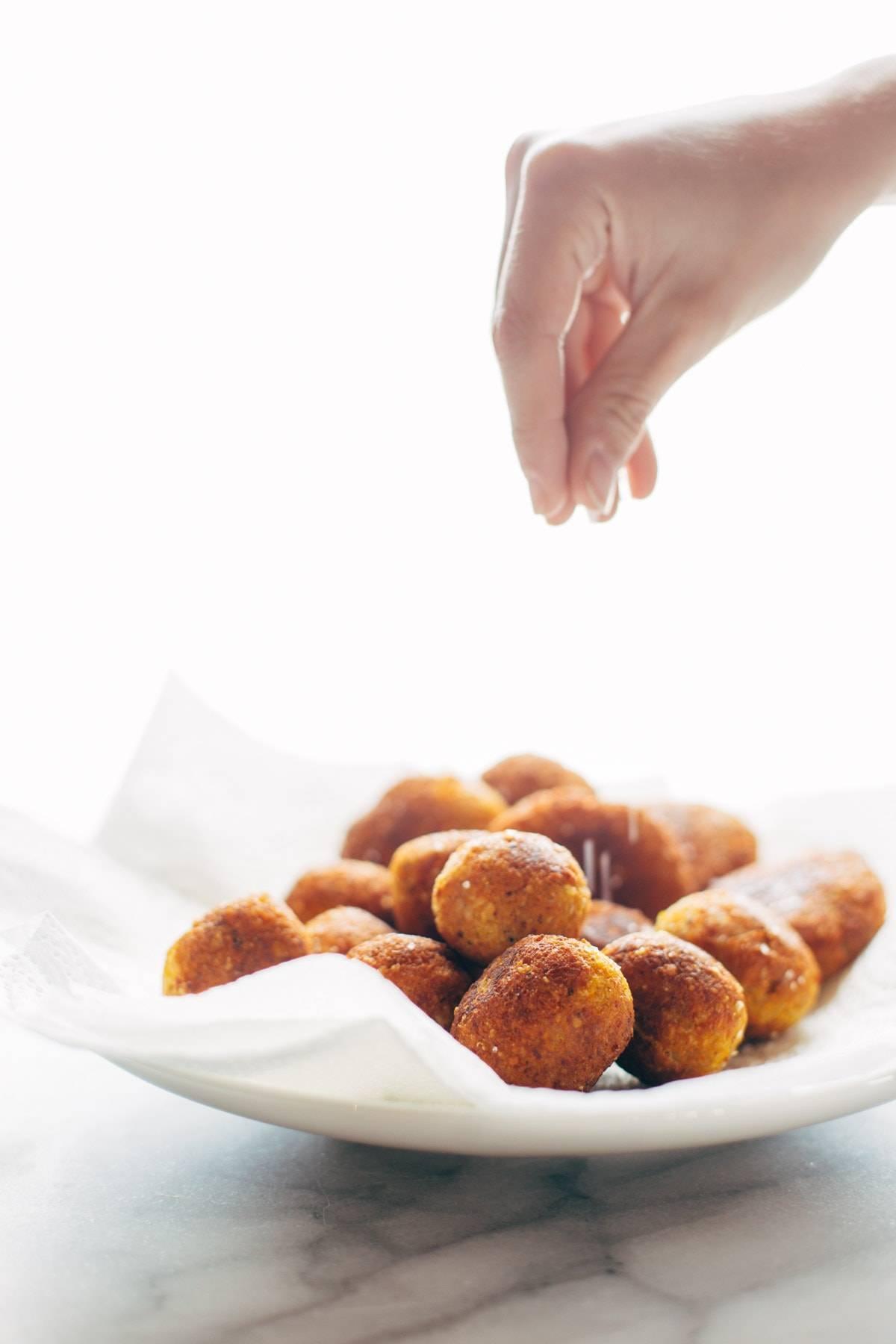 Sweet Potato Falafel | pinchofyum.com
