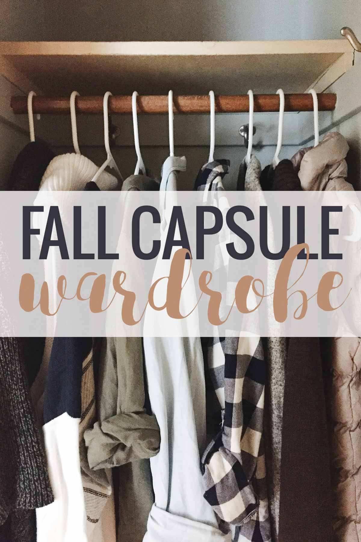 Fall Capsule Wardrobe | pinchofyum.com