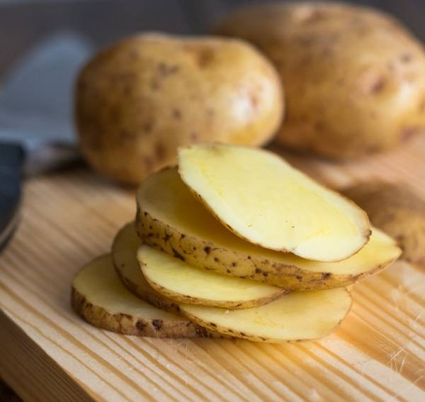 Image result for cutting potatoes in circles