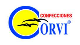 logo confecciones corvi