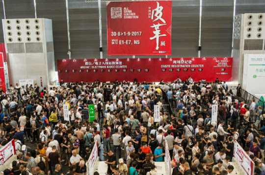 ACLE, All China Leather Exhibition, APLF, CLIA, ASEAN, salones de la piel, mercado chino del cuero, ACFTA