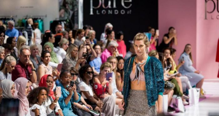 ITE, Pure London, Pure Origin, Julie Driscoll, salones de moda, moda en Gran Bretaña, Brexit, Moda, Scoop, Jacket Required, Ascential, temporada 2019/2020, Bubble