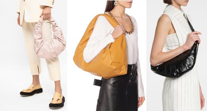 preppy, Lyst, ropa deportiva retro,  bolsos croissant, sandalias acolchadas