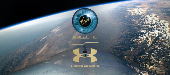 Under Armour, vuelo espacial , Virgin Galactic