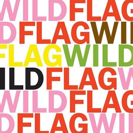 Wild Flag- Glass Tambourine
