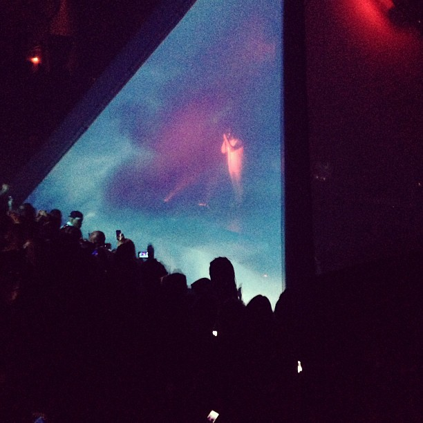Watch: Kanye West Performed New Material Inside a Pyramid at Surprise New York Show
