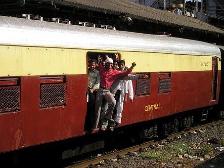 Indien, Mumbai, Bombay, Zug