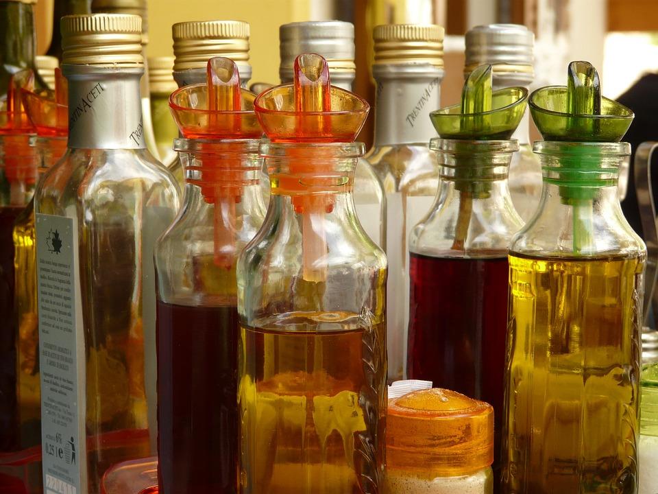 Bottle, Bottles, Vinegar, Oil, Still Life